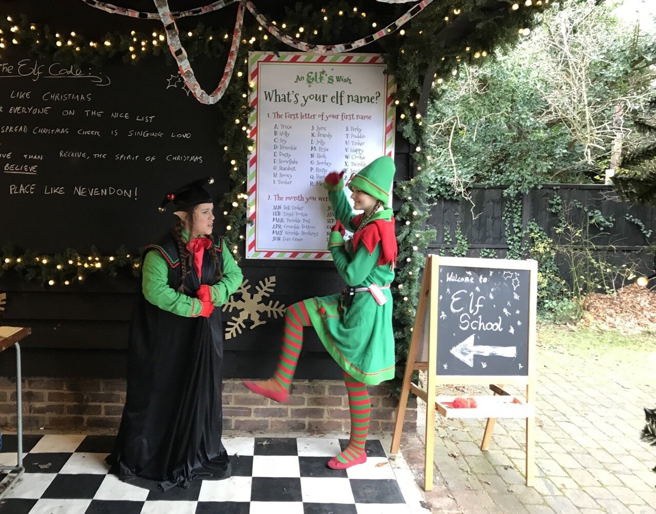 Elf school at An Elf's Wish at Nevendon Manor