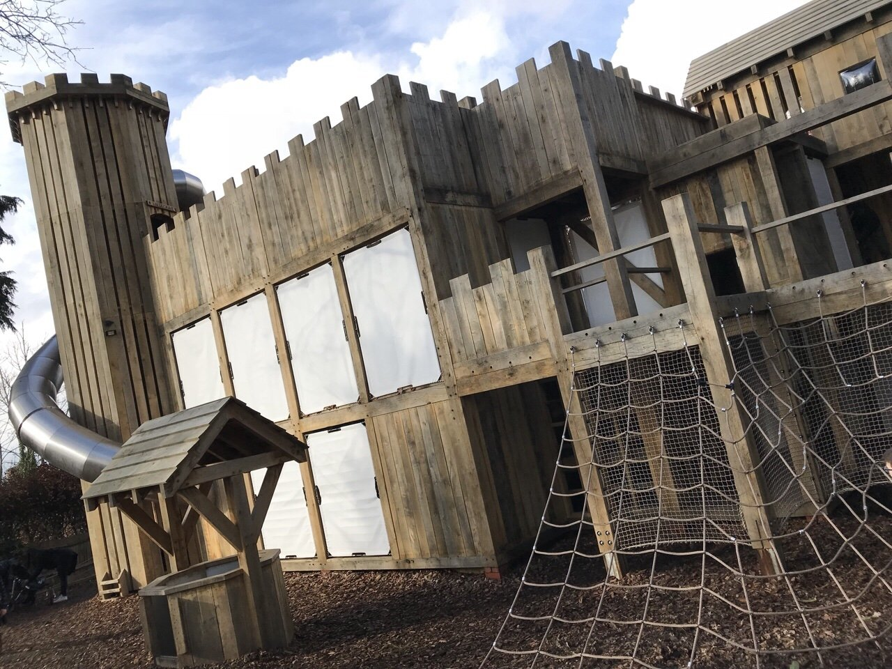 Tudor Towers Adventure Playground at Hever Castle