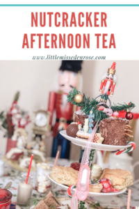 The Christmas Nutcracker Afternoon Tea running for the month of December at the Cardamon Tea Lounge in Colchester Essex