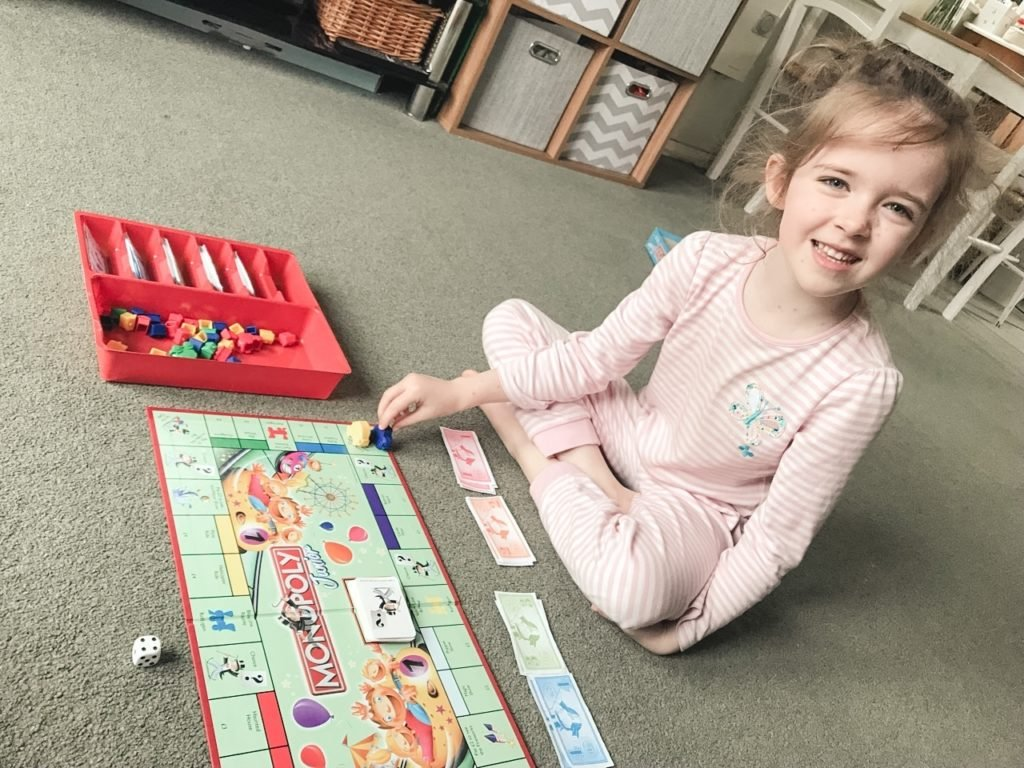 Kids board games, things to do at home with the kids