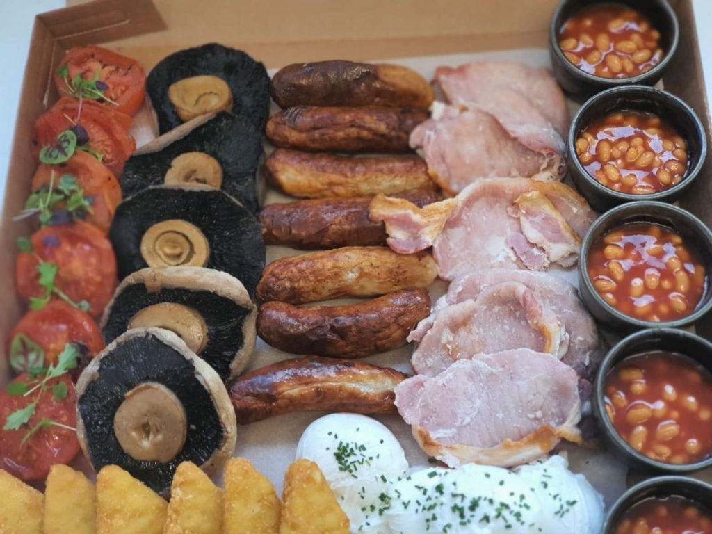 Breakfast platter takeaway collection or delivery in Billericay at French martini