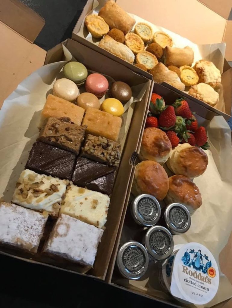 Graze boxe from wildflower travelling tea party in Wickford, Essex afternoon tea