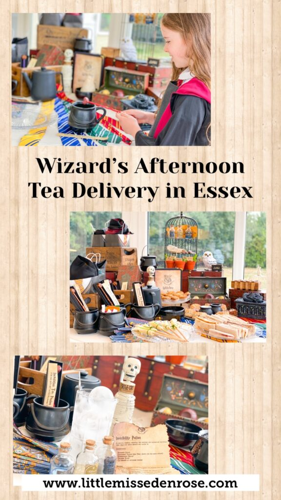Wizards afternoon tea delivery in Essex by Joeys Java